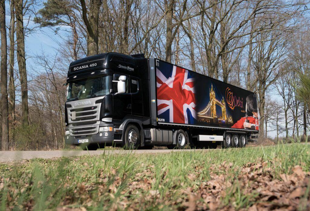Welsi truck London