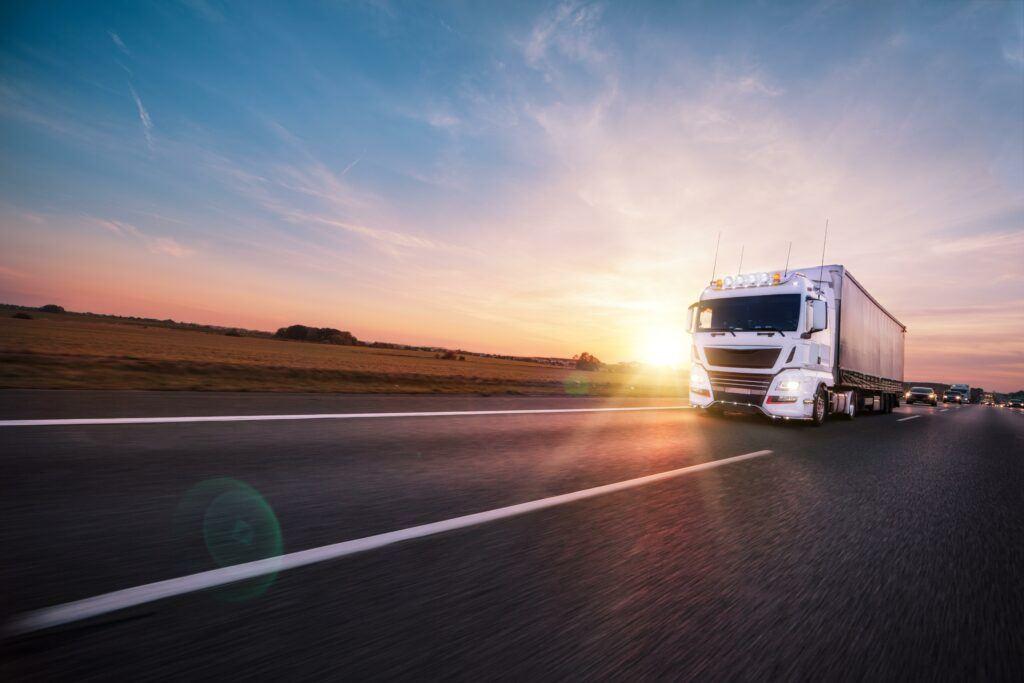Welsi truck snelweg